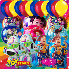 22pc Latex Foil Toy Story Woody Jessie  Birthday Party Balloons Balloon balloons