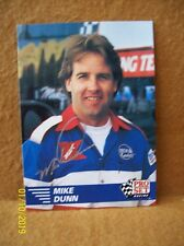 NHRA Mike Dunn AUTOGRAPHED 1991 PRO SET Racing FUNNY CAR Card Signed