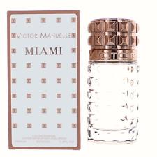 Victor Manuelle Miami for Men Eau de Parfum Spray 3.4 oz/100 ml, New In Box