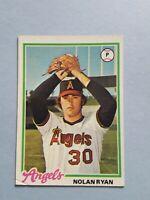 1978 Topps Nolan Ryan California Angels Baseball Card #400