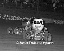 1980 GARY PATTERSON  8 X 10 USAC MIDGET PHOTO FROM ASCOT