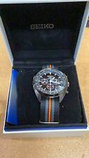 Genuine Seiko Solar Quartz Chronograph Watch Model V175 With Box/Papers