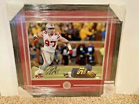 Joey Bosa #97 signed Ohio State Buckeyes 16x20 FRAMED photo JSA Witness