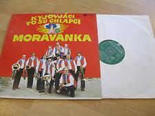 LP Moravanka KYJOVJACI TO SU CHLAPCI  Vinyl Schallplatte PANTON 110616 CSSR