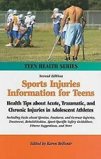 Sports Injuries Information for Teens: Health Tips about Acute, Traumatic, and C