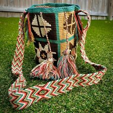 Wayuu Mochila Colombian Bag Large Handmade Colorful Authentic Special Design