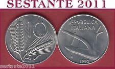 A6  ITALY, REPUBBLICA ITALIANA  10 LIRE 1993   KM 93,  FDC / UNC  DA ROTOLINO