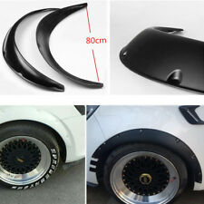 Neu 2-tlg. PP 80CM Auto Radlauf Verbreiterung Kotflügel Zierleisten Universal DE