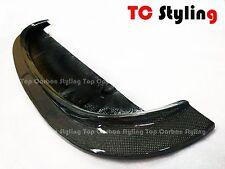 Carbon Fiber Front Bumper Center Chin Lip Spoiler CRT style For BMW E92 M3