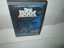 Wolfgang Petersen Das Boot 1985 dvd (3 Hour German U-Boats Jurgen Prochnow Mint