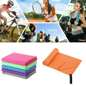 Microfiber Towel Quick Dry Sweat Absorb Beach Towels Sports Swimming Gym Yoga