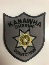 Kanawah County West Virginia Sheriffs Department Corrections Police Patch