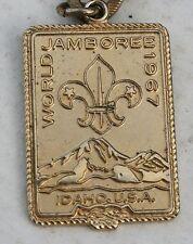 Vintage Boy Cub Scout Metal Bracelet 1967 World Jamboree Idaho Badge