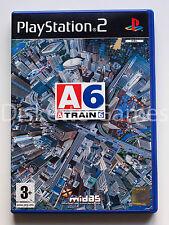 A TRAIN 6 - PLAYSTATION 2 PS2 PLAY STATION 2 - PAL ESPAÑA - ATRAIN