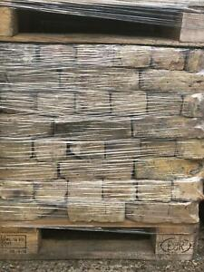 Pack Of 300 - Mixed Handmade Reclaimed Facing Brick - 65mm-non-refundable