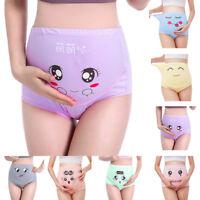 Smile Women High-waist Panties Cartoon Seamless Soft Care Abdomen Underwear
