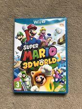 Super Mario 3D World - Nintendo Wii U - Excellent Condition & Fast Postage