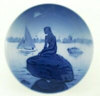 VINTAGE Royal Copenhagen Langelinie Mini Plate The Little Mermaid #4356 Signed