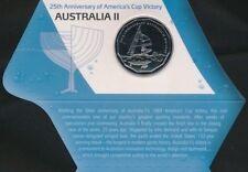 **2008 scarce Australian America's Cup 50 cent  Carded UNC**