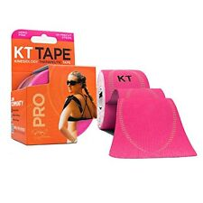 KT TAPE PRO Synthetic Elastic Kinesiology 20 Pre Cut 10 Inch Strips Therapeutic