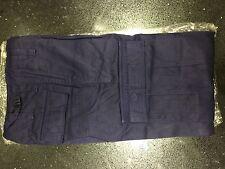 "Men's 26"" Waist Navy Army Combat Style Cargo Pants SALE Commando Trousers New"