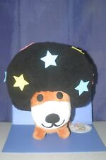 "SAN-X Afro Ken Star Plush Doll Big 12""×9.2"" Black hair"