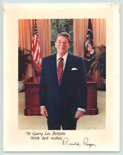 President RONALD REAGAN Autographed Photo SIGNED AUTOGRAPH