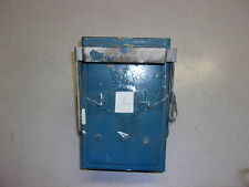 Trumbull FL36 Electrical Box, Painted Blue *FREE SHIPPING*