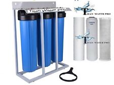 Big Blue Water Filter Fully Assembled - High Flow - Home or Light Commercial