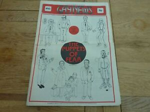 1974 RARE UK GAY NEWS NEWSPAPER No 43 PUPPETS OF FEAR COMPLETE 20 PAGE