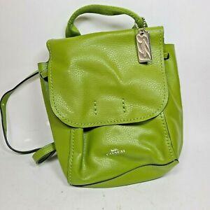 COACH DERBY MINI LEATHER BACKPACK Shoulder Satchel bag - Green