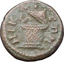 SEPTIMIUS SEVERUS Nicaea Bithynia Rare Ancient  Roman Coin Cista mystica i48004