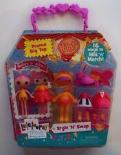 Lalaloopsy Minis Style N Swap Peanut Big Top doll NEW damaged box