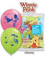 """6 pc 12"""" Winnie the Pooh Happy Birthday Friends Party Latex Balloons Piglet"""