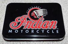 INDIAN MOTORCYCLE - 2002 DOUBLE DECK OF PLAYING CARDS IN A COLLECTABLE TIN