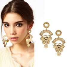 Beautiful Fancy Gold Color Chandelier Earrings - 3.5 inch