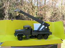 SOLIDO 1/50 METAL MILITAIRE CAMION KAISER JEEP M34 6X6 Depannage grue REF 6070