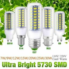 E27 24 LEDS 7W BULB DAY WHITE ENERGY EFFICIENT LED LIGHT SPOTLIGHT LAMP
