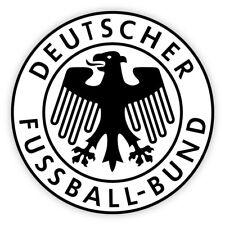 """4""""Germany German Deutscher Fussball-Bund car/lunch box/hard hat decal / sticker"""