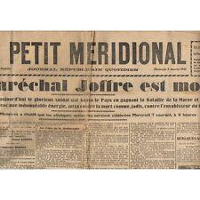 Le PETIT MÉRIDIONAL 4-1-1931 Foot BOCSKAÏ-SOM 5 à 3 FC SÈTE-ROUEN et NÎMES-MÈZE