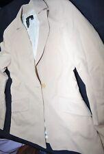 NEW BCBGMAXAZRIA Womens Beige Suit Blazer Formal Regular Size XS Moldava