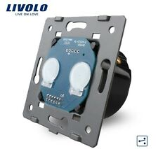 2 marchas funcionamiento interior Touch doble cambio interruptor cruz interruptor livolo vl-c702s