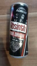 1 Volle Drink Dose Tschechien 250ml Absinth 10,5% alk vol Full Can energy hand
