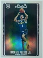 2018-19 Panini Chronicles Studio Michael Porter Jr. Rookie RC #299, Nuggets