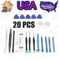 20 in 1 Mobile Phone Repair Tools Kit Spudger Pry Opening Tool Screwdriver EAUSA