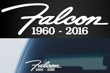 Falcon 1960-2016 Sticker 200mm ford rest in peace car window decal