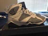 Mens Size 12 Air Jordan Retro 7 Flint Rare Bred Cement Infrared VII XI Concord
