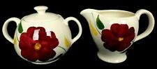 Vintage Swinnertons Cream and Sugar Bowl Lid Stafforshire England Nestor Vellum