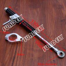 HI-Q Black 330MM Universal Steering Damper Stabilizer For Honda Yamaha Kawasaki