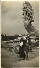 PHOTO ANCIENNE - VINTAGE SNAPSHOT - EXPOSITION COLONIALE MODE PARIS 1931-FASHION